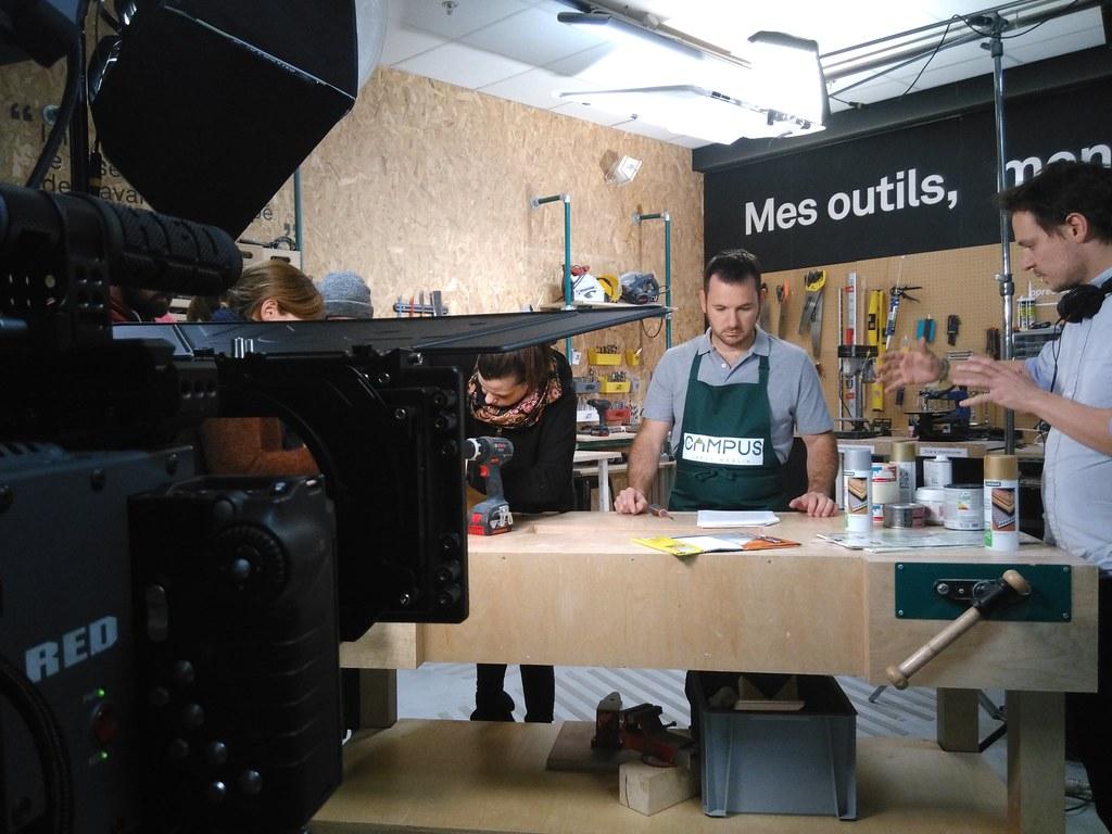 UniK Production - Le Campus Leroy Merlin - Tournage film publicité internet