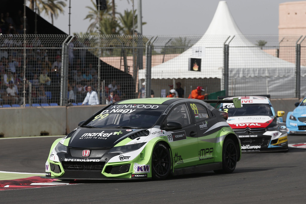 99 NAGY Daniel (hun) Honda Civic team Zengo Motorsport action during the 2017 FIA WTCC World Touring Car Race of Morocco at Marrakech, from April 7 to 9 - Photo Jean Michel Le Meur / DPPI.