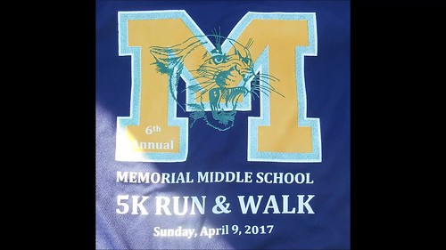 6thMemorial Middle School wellness 5k