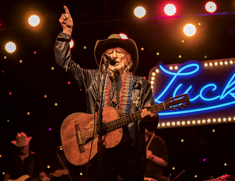 Willie Nelson at Luck Reunion 2017
