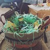 Michael's sweet mom gave us Easter baskets. How fun!! #nevertooold #iloveit #family #marriedwell