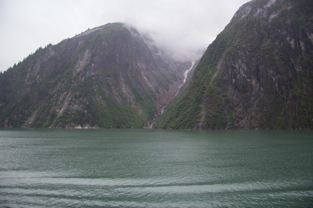 Sailing Tracy Arm Fjord on Alaska Cruise
