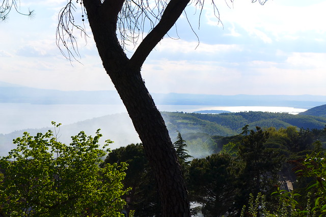 Lago Trasimeno, seen from Castel Rigone