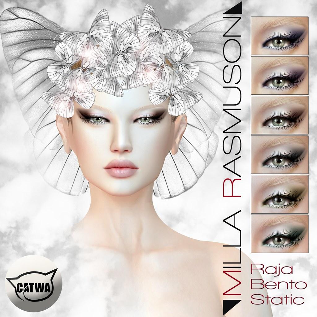 "MRM ""Raja""Eyes Makeup Bento / Static Catwa"" - SecondLifeHub.com"
