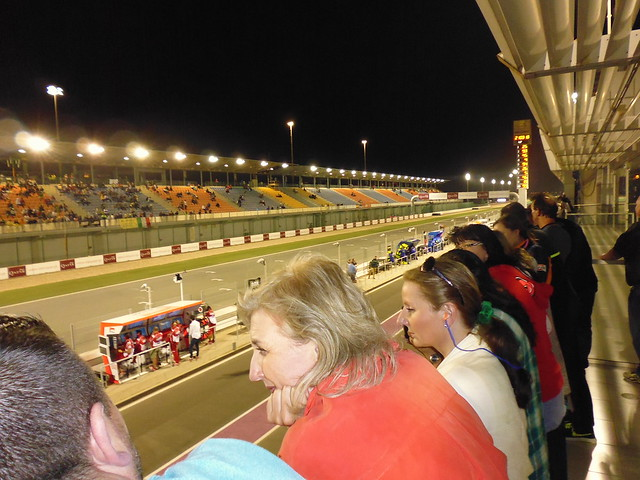 The VIP terrace