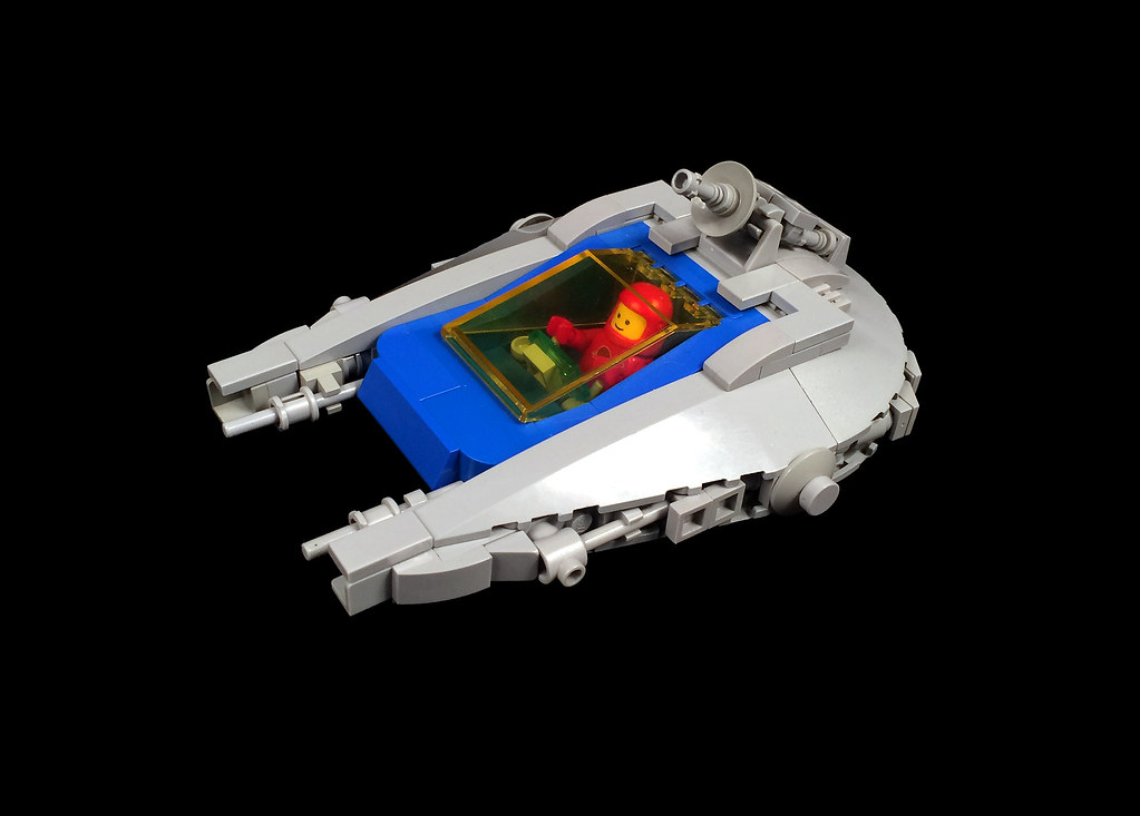LL1302 starfighter (custom built Lego model)