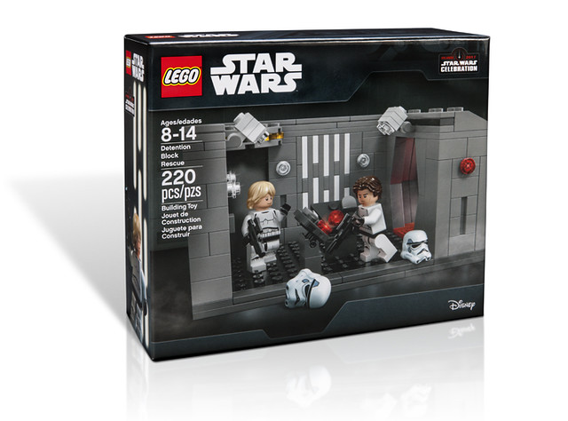 星際大戰40週年展場限定!Star Wars Celebration Exclusive「LEGO Star Wars Detention Block Rescue」!