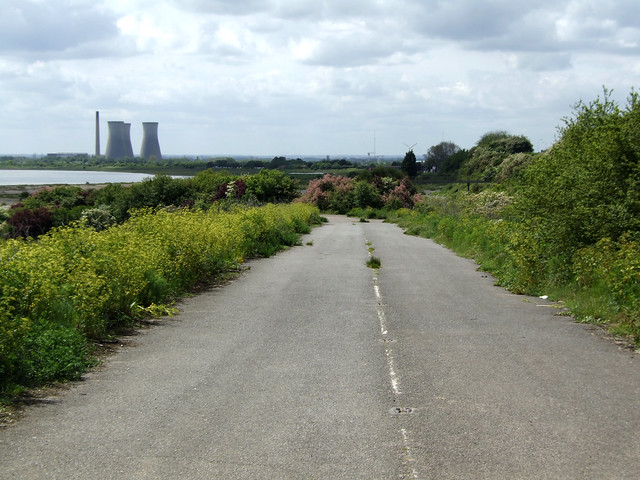 Old road at Pegwell Bay