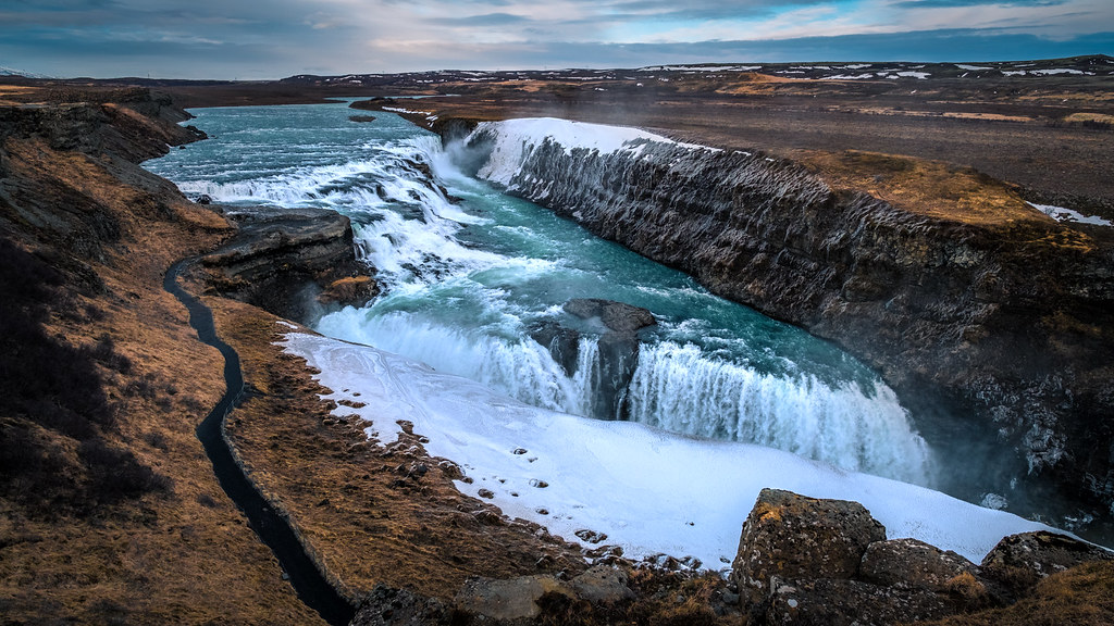 Gullfoss waterfall - Iceland - Travel photography