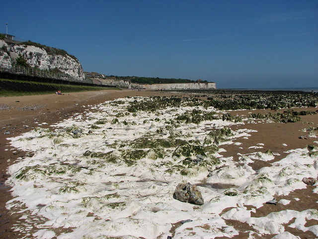 The coast north of Broadstairs
