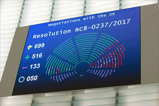 Brexit: MEPs agree on key conditions for approving UK withdrawal agreement