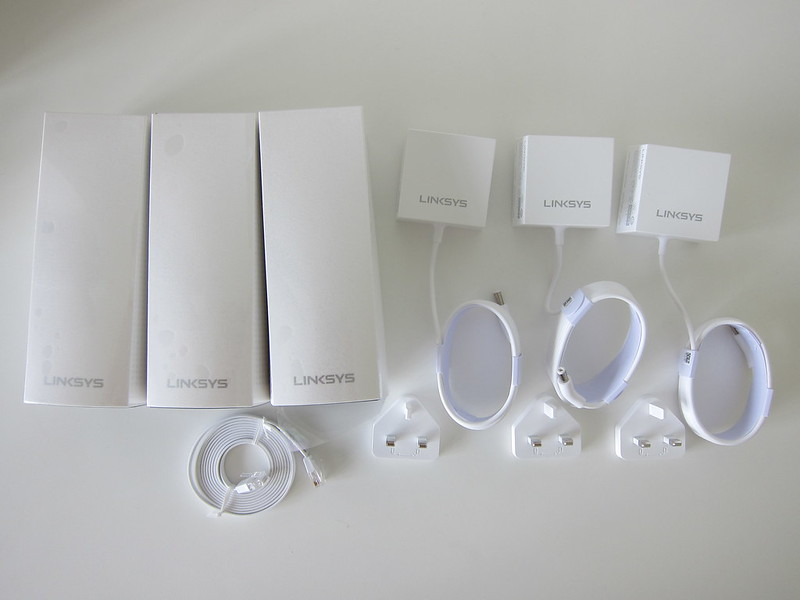 Linksys Velop - Box Contents