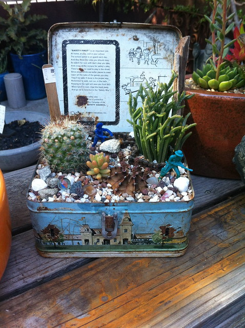 Lunchables -- creative potting containers at Potted