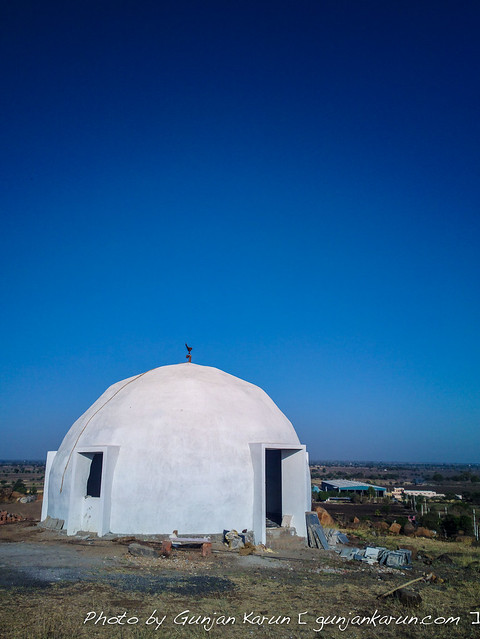 Dome under the blue sky