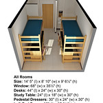 Dimensions Berry Becton Additional View w one closet