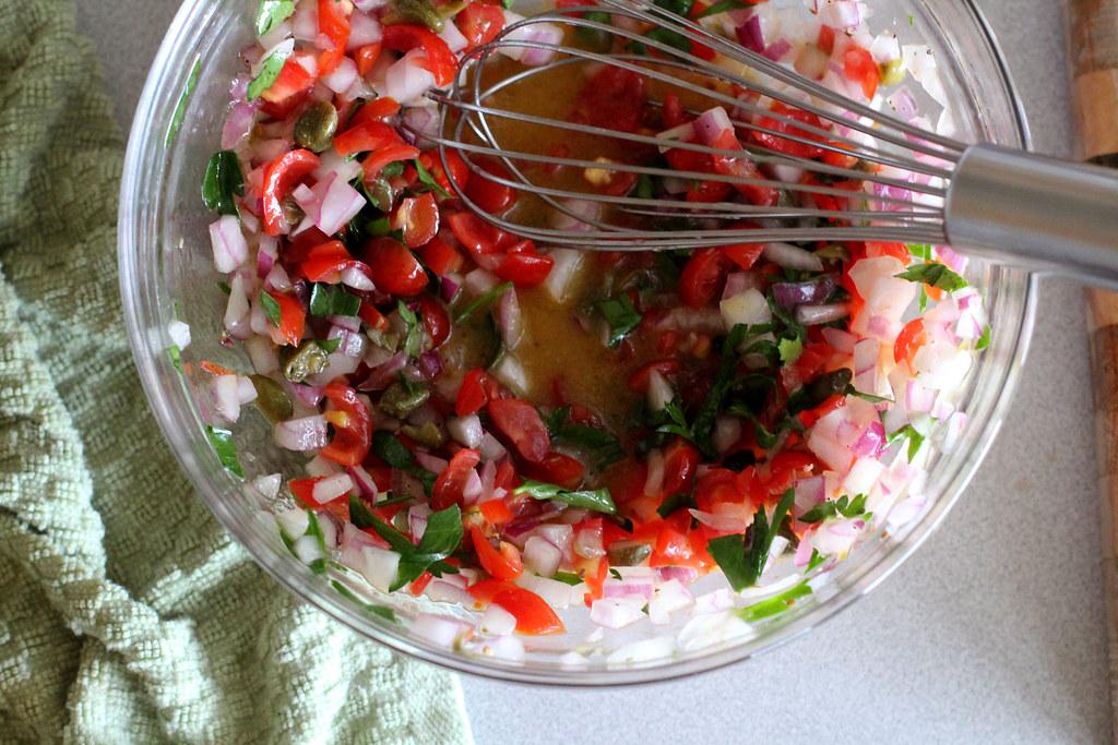salsa vinaigretta