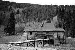 Old cabin near Moffat Tunnel