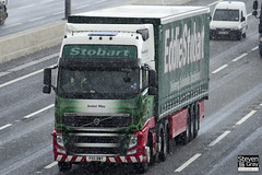 Volvo FH 6x2 Tractor - PX11 BWY - Isobel May - Eddie Stobart - M1 J10 Luton - Steven Gray - IMG_8643