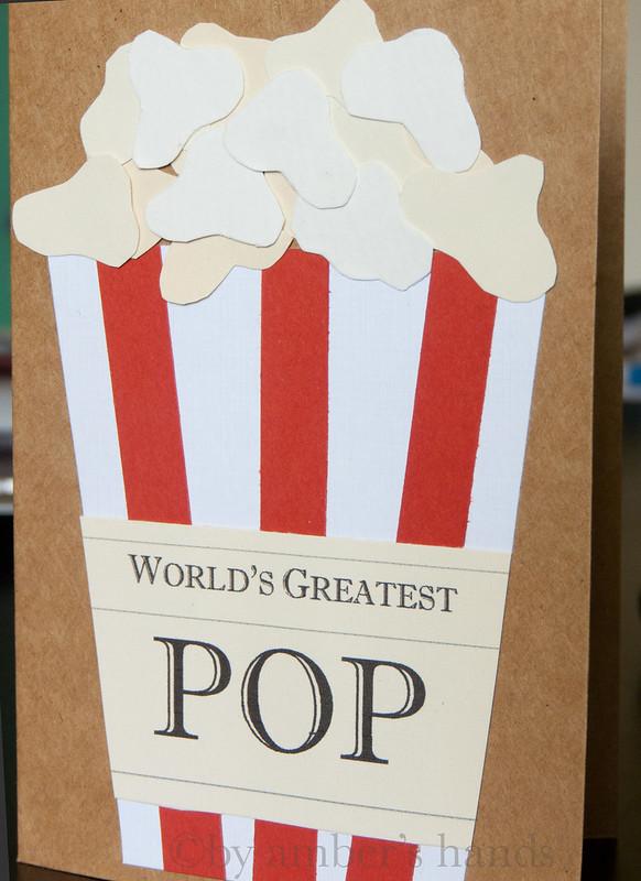 Worlds Best String Bikini Bottoms: World's Greatest Pop {Father's Day Card}