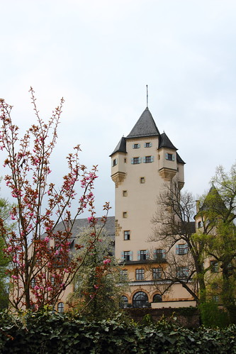 Berg Castle, belonging to Luxembourg's Grand Duke