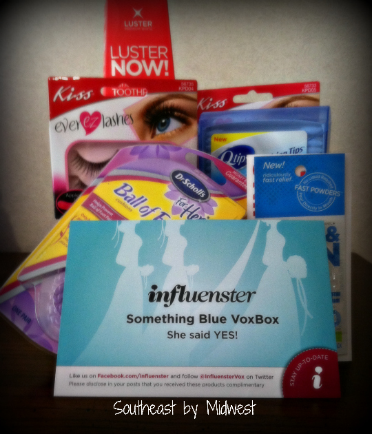 Influenster Something Blue VoxBox on Southeast by Midwest