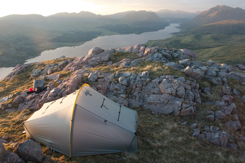 Camped above Loch Etive