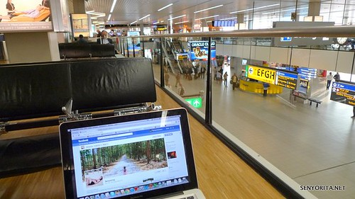 KLM Flight: Manila-Amsterdam-Birmingham