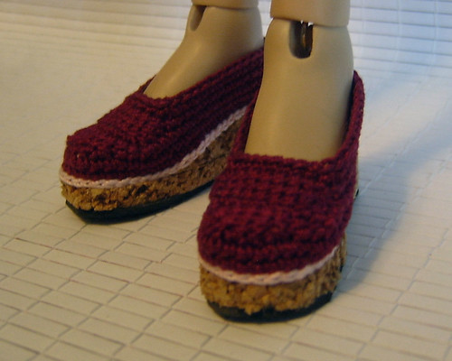 BJD Crochet Wedges 2