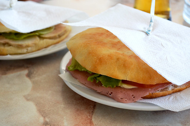 Sandwich in Croatia