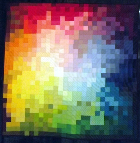 IQF Chicago 2013 - Pixelated Color Wheel by Kati Spencer