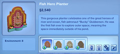 Fish Hero Planter