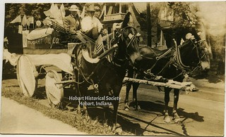 Shearer float, July 4, 1914