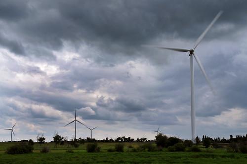 canada storm windmill landscape nikon day wind farm alberta d300 sigma18200