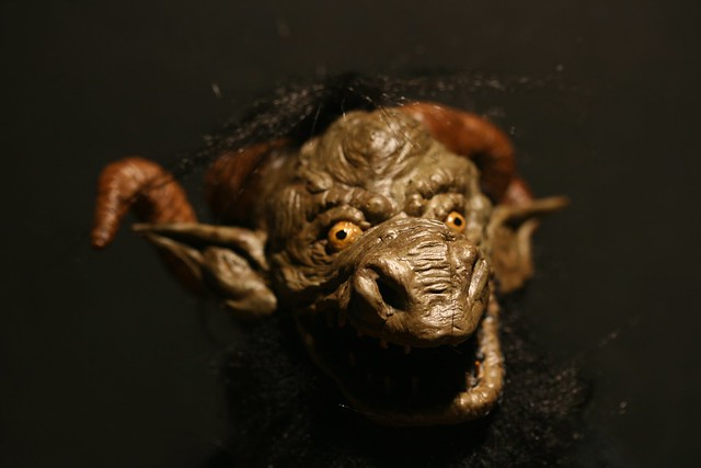 Poseable 'Gloamglozer' from The Edge Chronicles.
