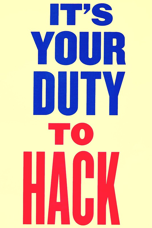 It's Your Duty to Hack