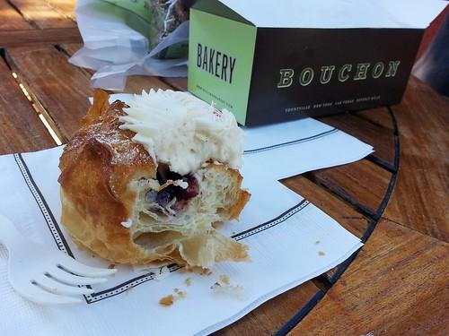 Cream cheese danish at Bouchon