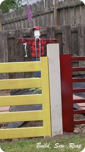 Crib Parts Fence 02