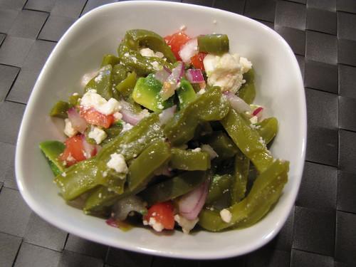 Marinated Cactus Salad