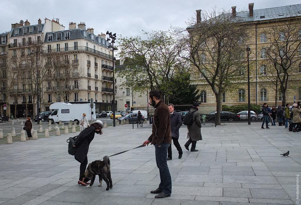 Paris, Unexpected Encounter