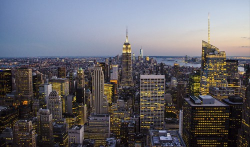 Manhattan - New York City Skyline