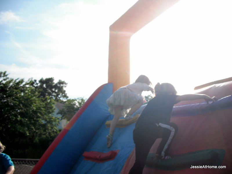 climbing-the-bouncy-slide-at-family-fun-night-13