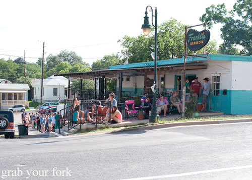 queue at franklin barbecue austin texas