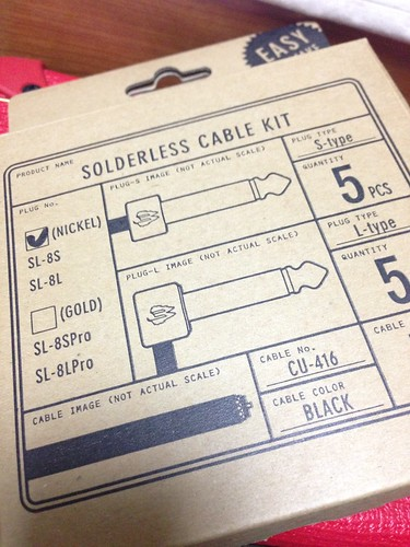 Free The Tone Solderless Cable Kit
