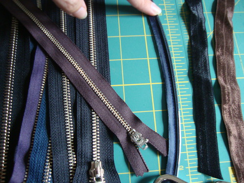 zippers and piping and FOE