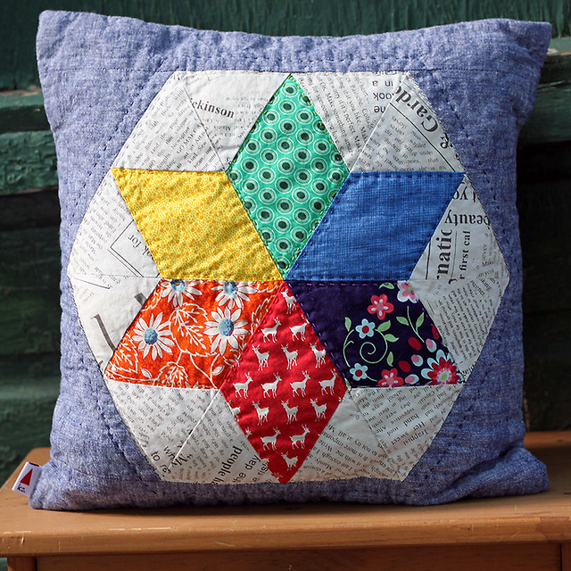 Rainbow Star Pillow
