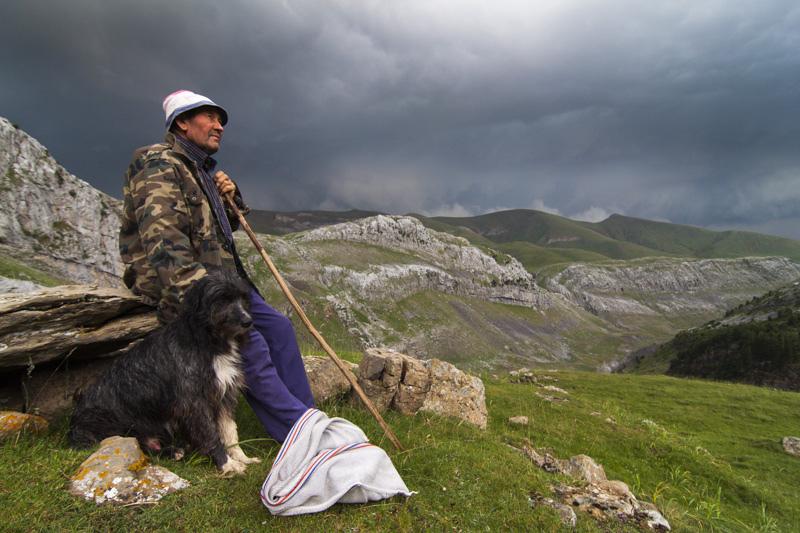 3. Pastor del Pirineo. Autor, Javier Falcó