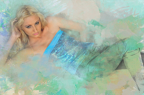 Image of Aliona with texture