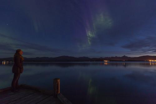 Gazing at the Aurora
