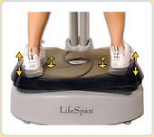 LifeSpan Fitness VP-1000 Vibration Plate