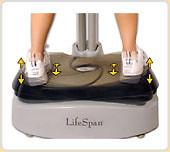 LifeSpan Fitness VP-1000 Vibration Plate